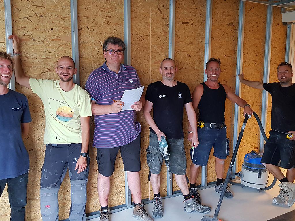 Verbouwing Digibende Amstelveen in volle gang