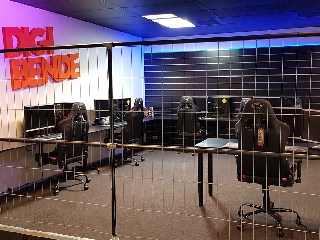 De nieuwe Game- en VR design ruimte is een feit!